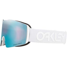 Oakley Fall Line XL Gogle zimowe Mężczyźni, white/prizm snow sapphire iridium